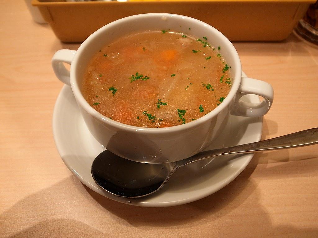 CoCo壹番屋培根蔬菜湯