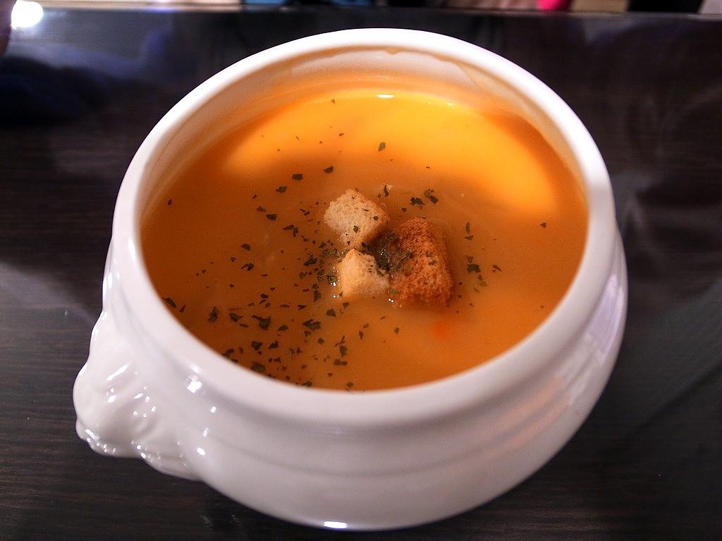 庭緣義式坊-奶油南瓜湯
