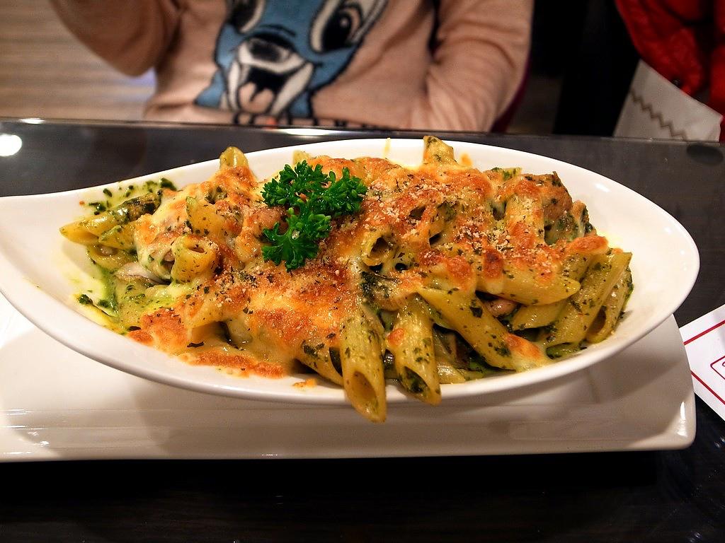 庭緣義式坊-青醬雞肉義大利麵