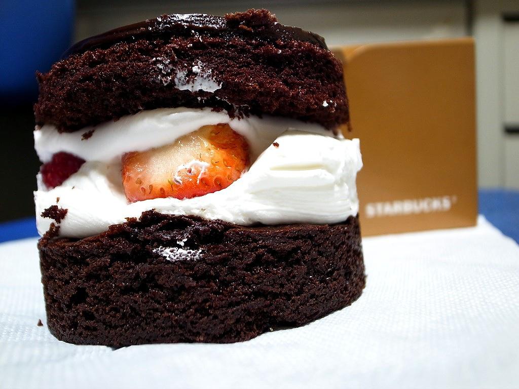 草莓巧克力布朗尼