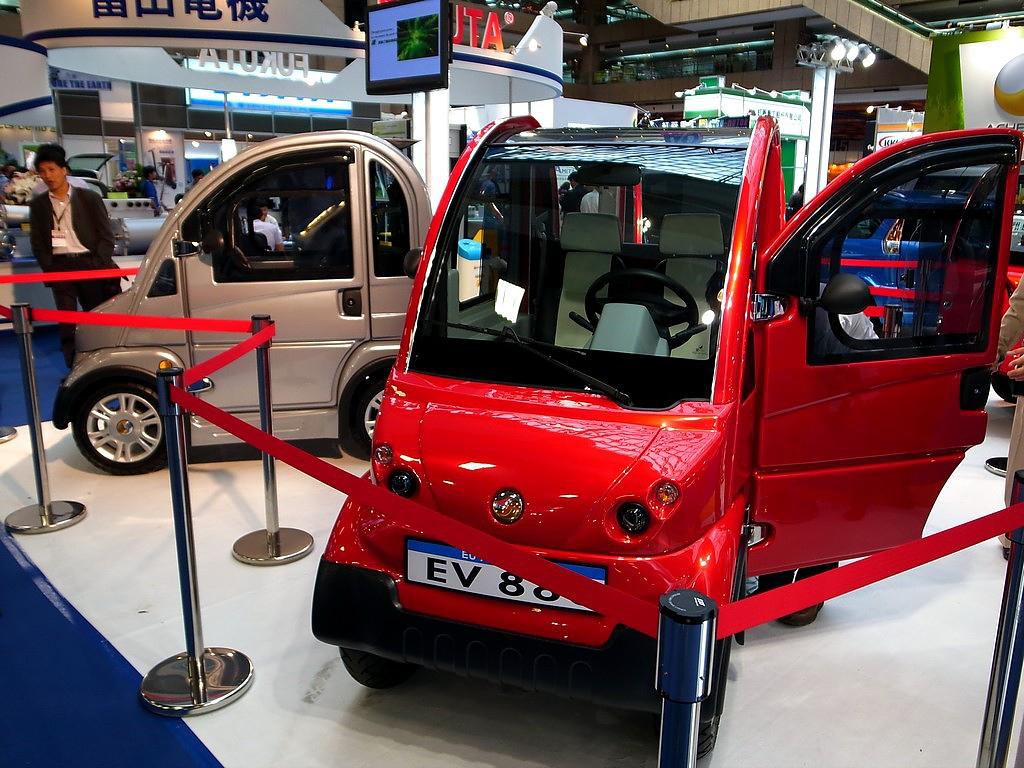 環保油電概念車