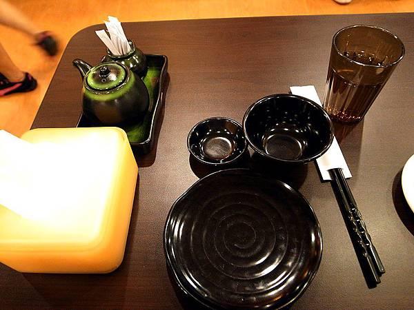 日本料理熱茶