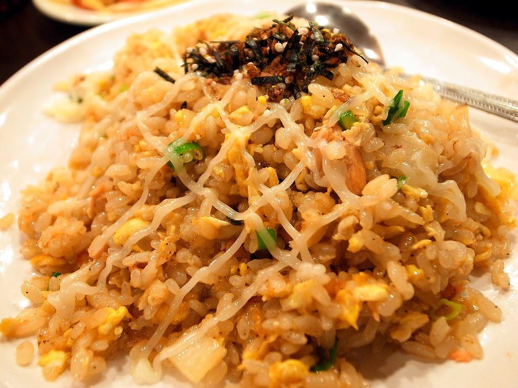蘆洲鮭魚炒飯