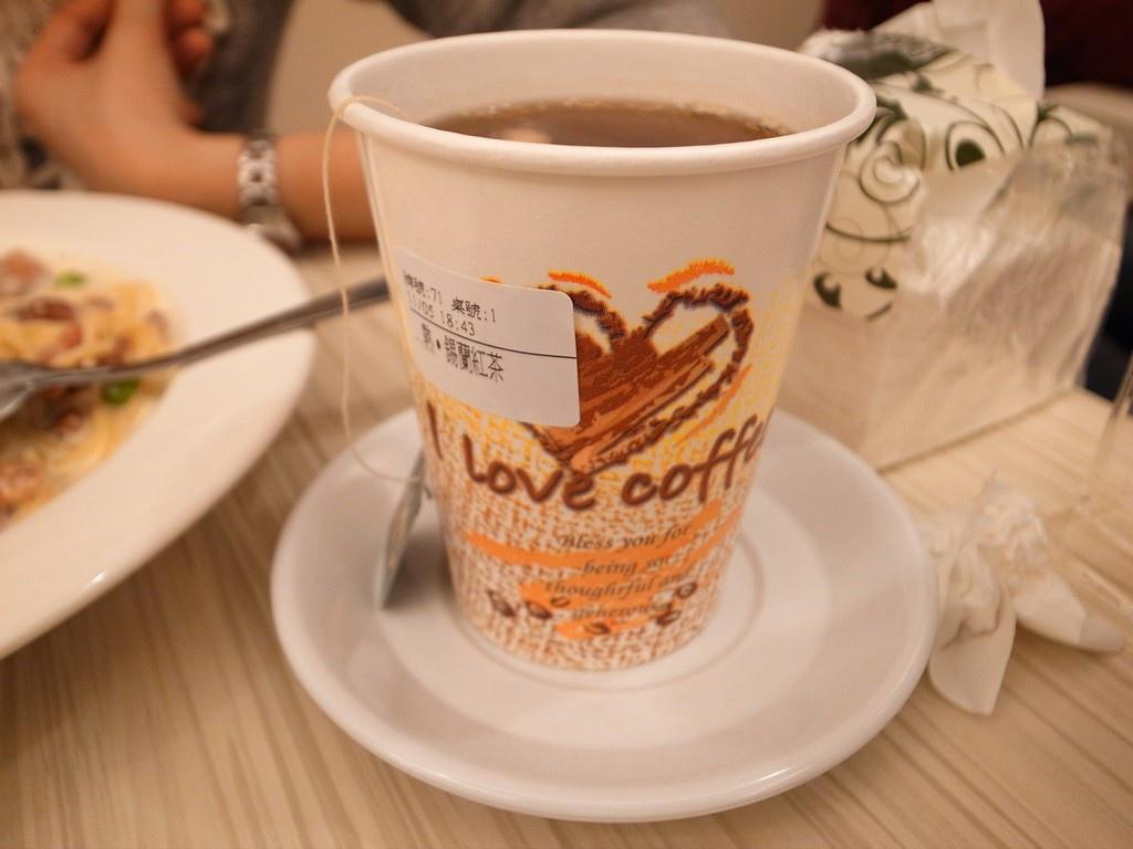 艾隆義大利麵錫蘭紅茶
