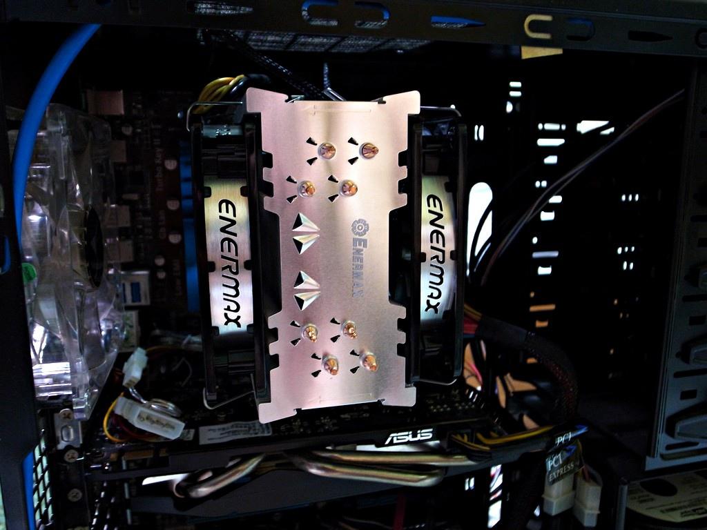 Enermax ETS-T40 CP值高 散熱器