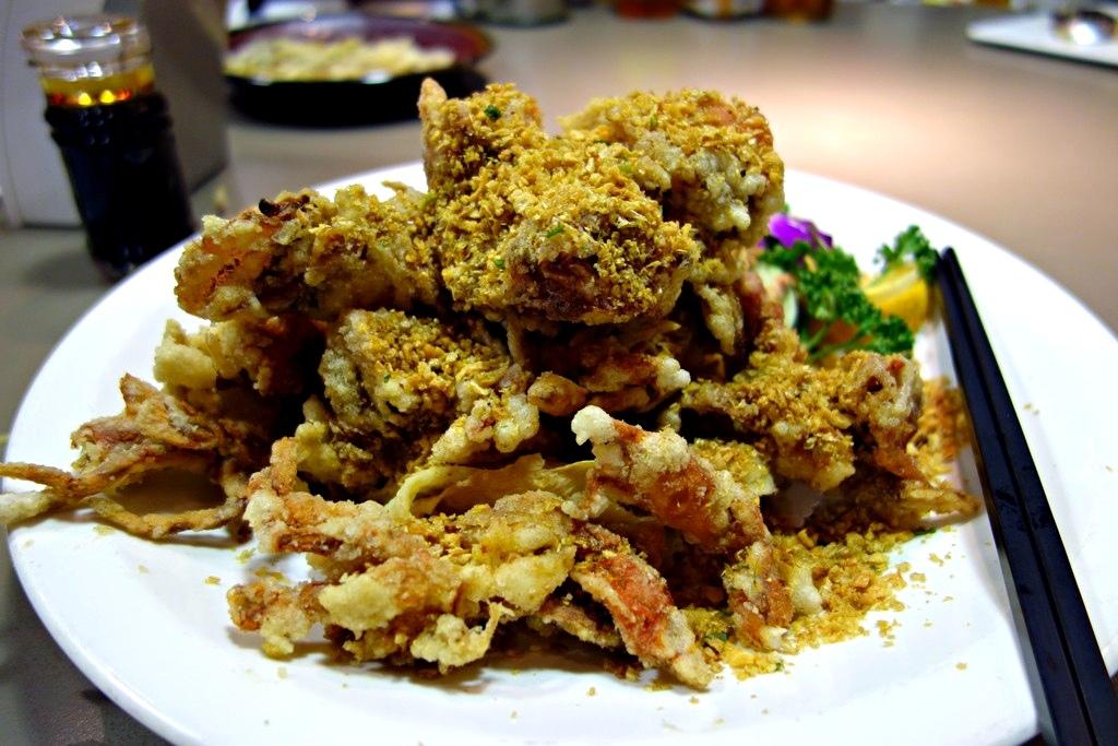 酥炸軟殼蟹