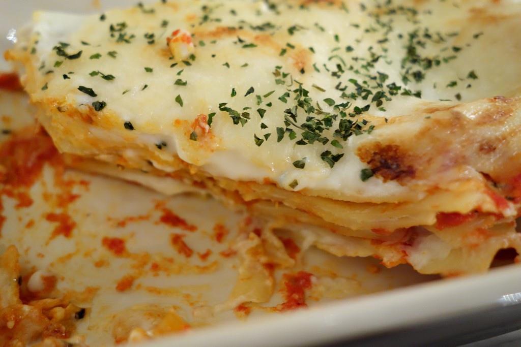 好吃的焗烤千層義大利麵