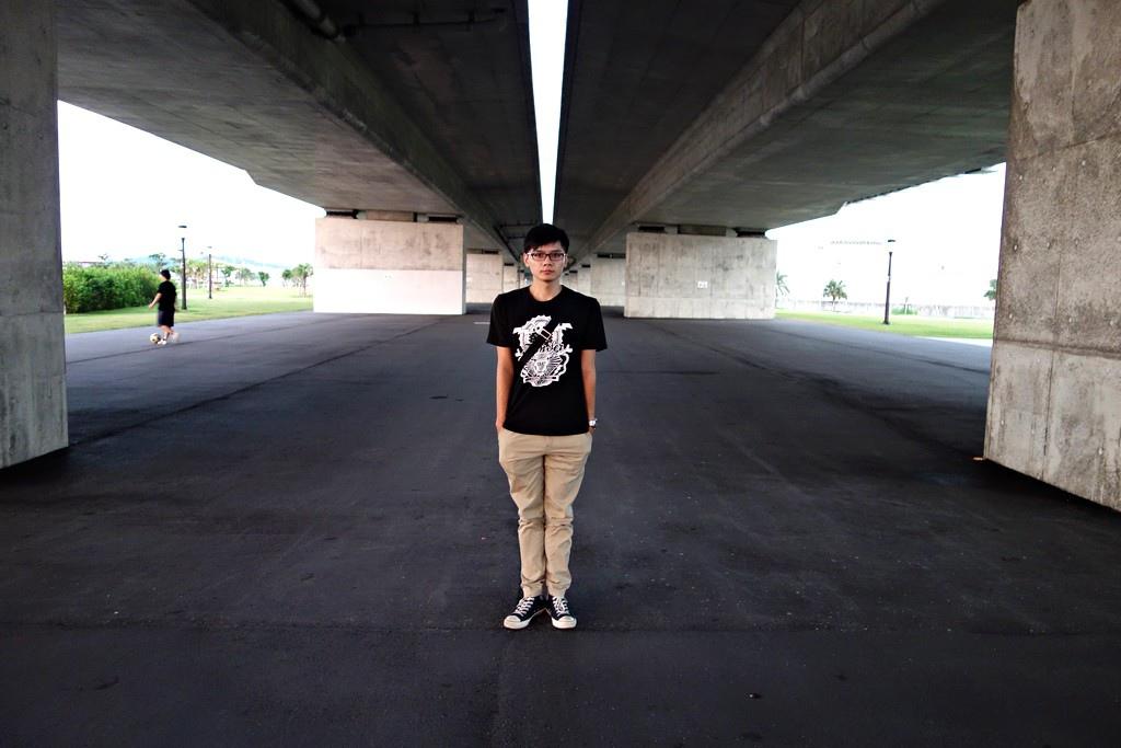 沖繩橋下潮人