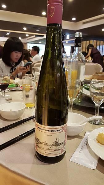 Weingut Liebfrauenstift Riesling Trocken Qualitatswein 2012