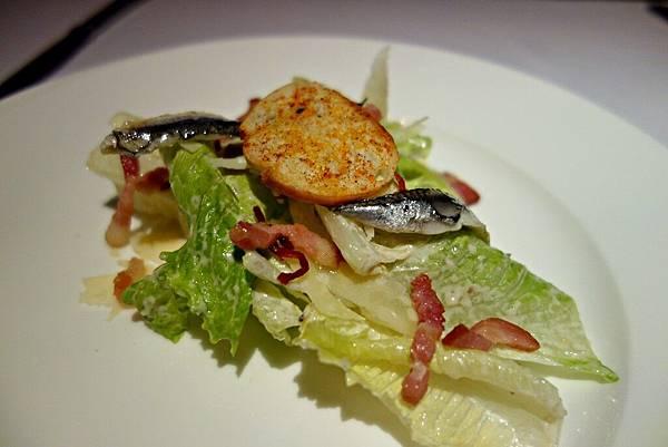 白鯷魚凱薩沙拉