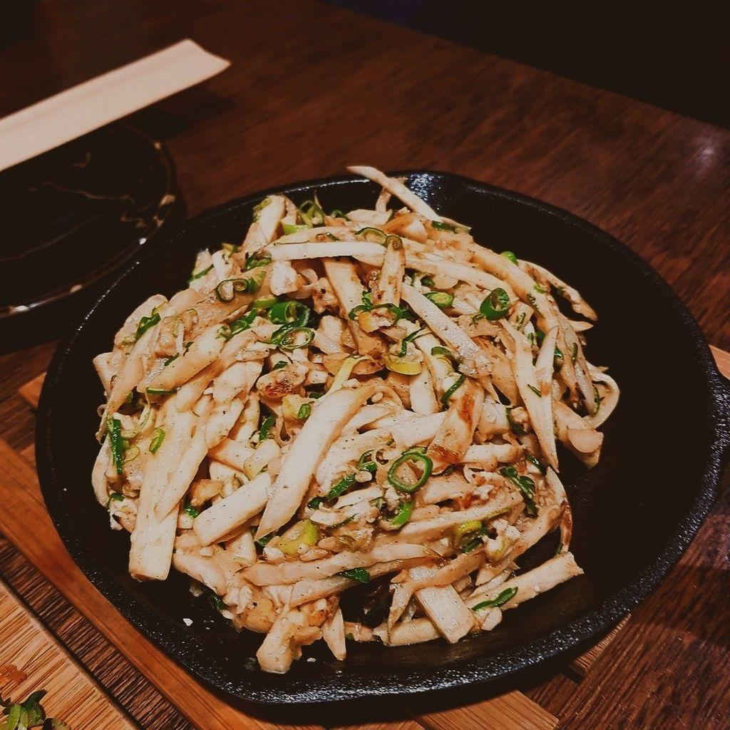 金沙炒筊白筍
