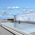 屋頂游泳池設計