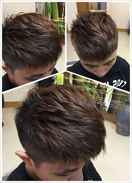 韓式男生剪髮