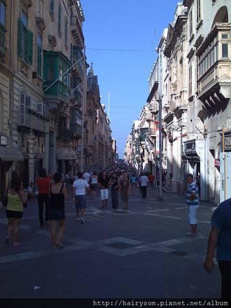 Valletta的遊客