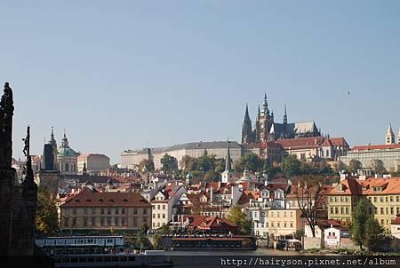 遠眺布拉格城堡