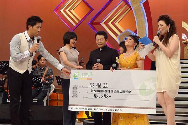 徐青雲台長頒獎給優勝者