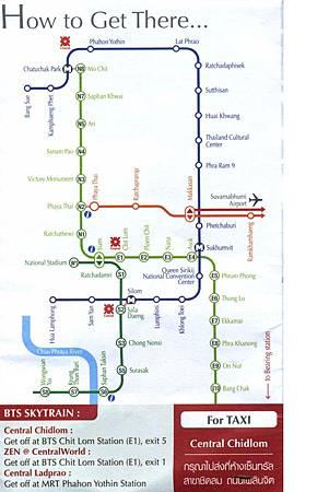 BTS、MRT 路線圖