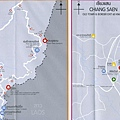 Northern Thai Map - Phu Chi Fah, Chiang Saen