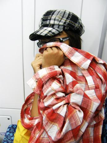 梨子在回程的火車上被我強拍(?)