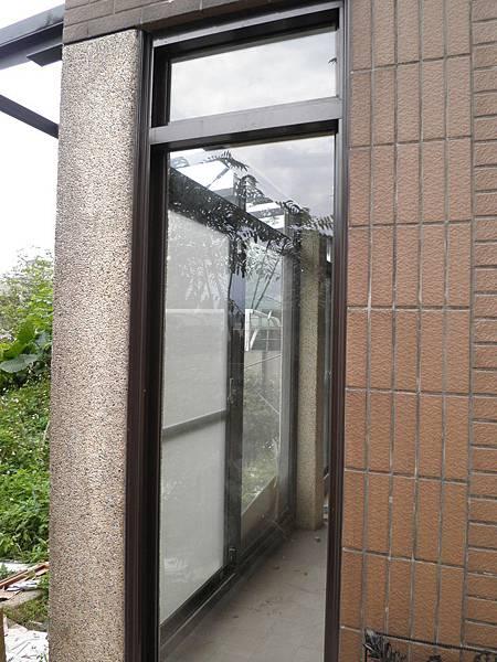 PL192F正新原廠固定景觀窗-深咖啡粉體色