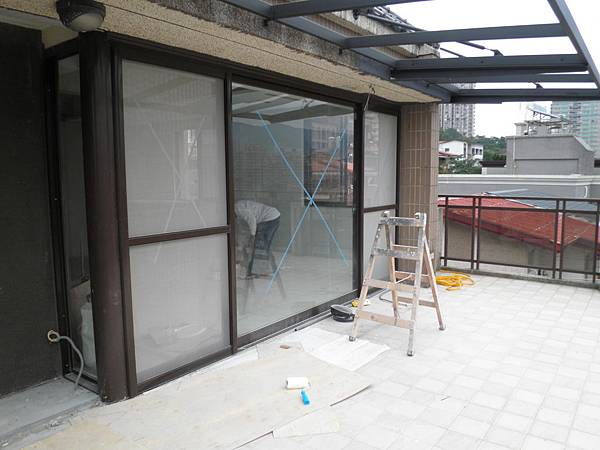 正新原廠PL192型隔音落地窗-3拉+轉角原廠固定窗含5+5mm雙清強化光膜膠合玻璃