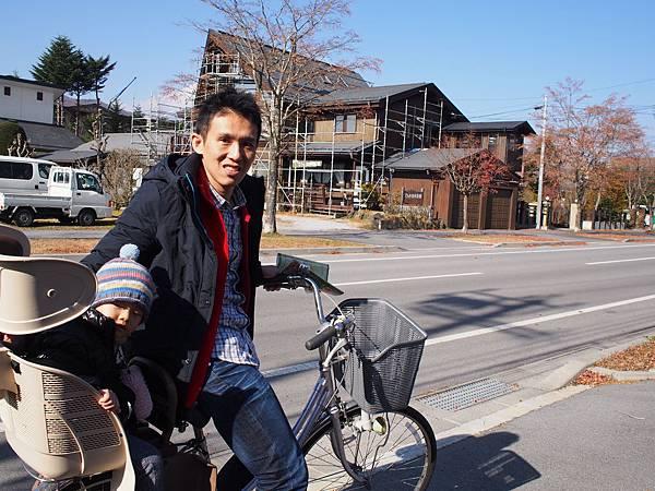 輕井澤騎腳踏車