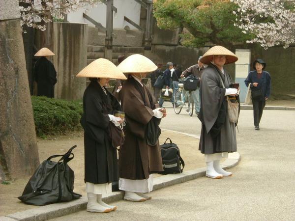 大阪城.僧
