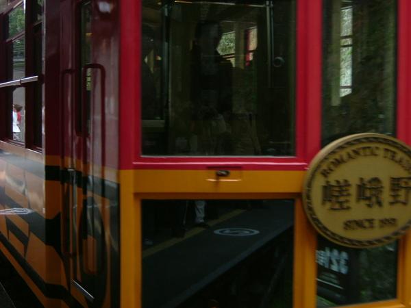 嵯峨野.沒照好的小火車頭