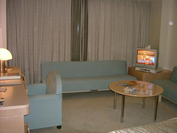 飯店房間小客廳