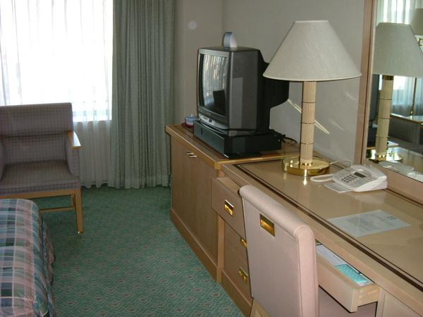 飯店房間一角