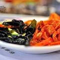 請韓江館銅盤烤肉公館店泡菜+海菜