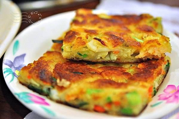 韓江館銅盤烤肉公館店海鮮煎餅