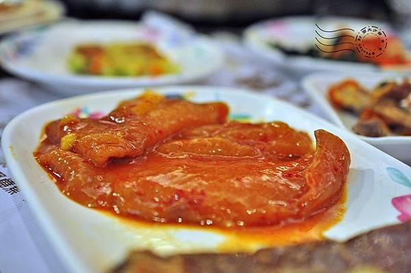 韓江館銅盤烤肉公館店雞排肉
