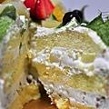 抹茶核桃布丁蛋糕