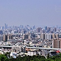 俯瞰台中市