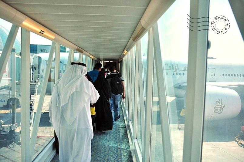 杜拜機場登機空橋