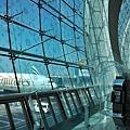 杜拜機場B18登機門