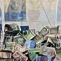 杜拜機場捐款箱