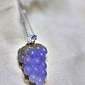 紫羅蘭翡翠墜