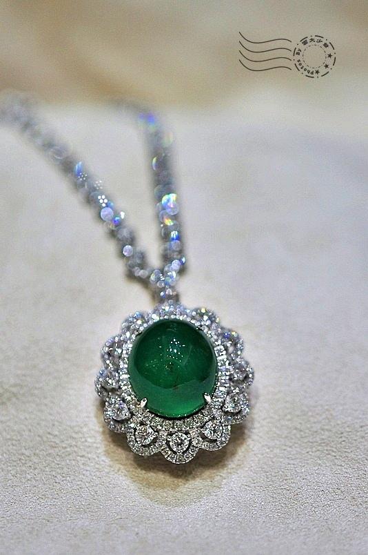 祖母綠項鍊