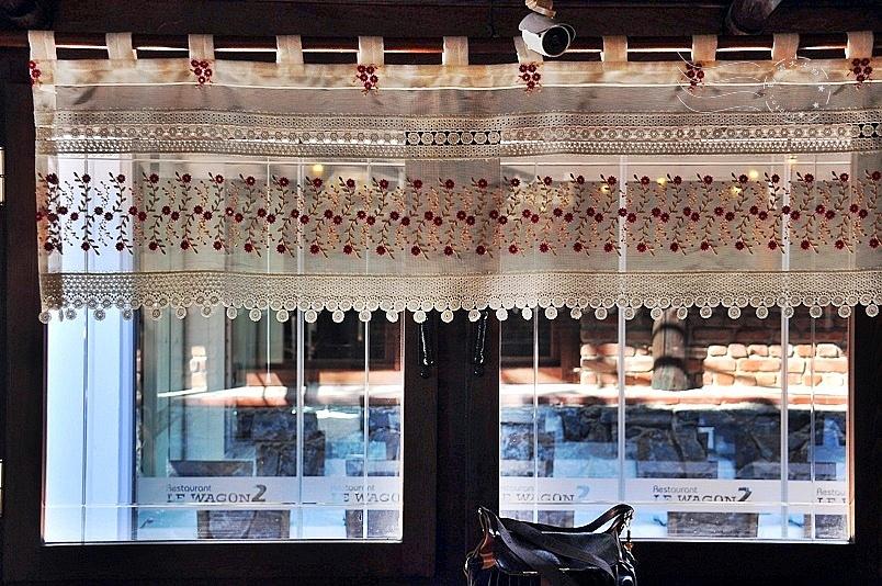 自助餐廳窗簾
