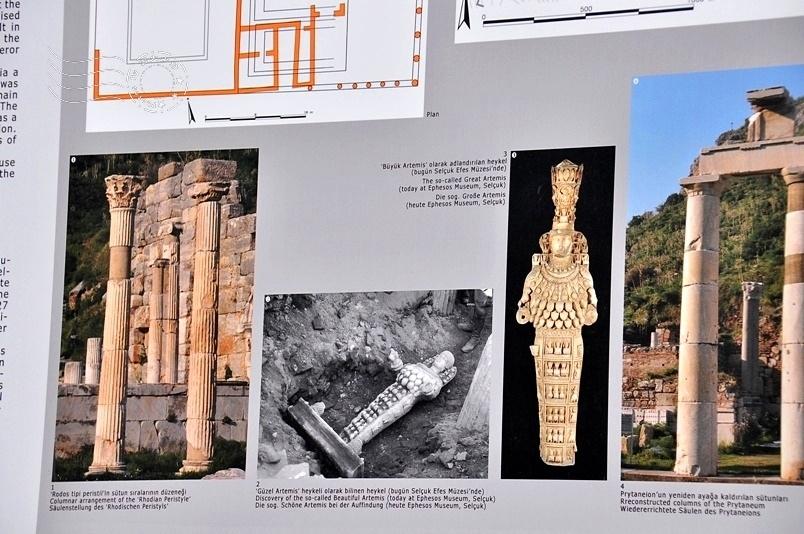 艾菲索斯古城:阿提米斯神廟示意圖