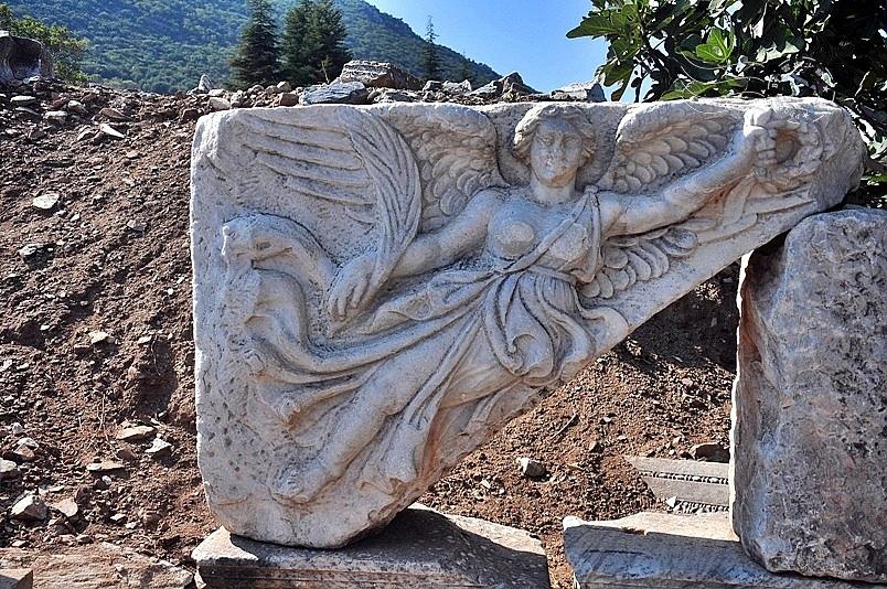 艾菲索斯古城:Nike女神