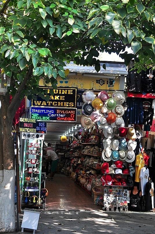 艾菲索斯古城:商店街