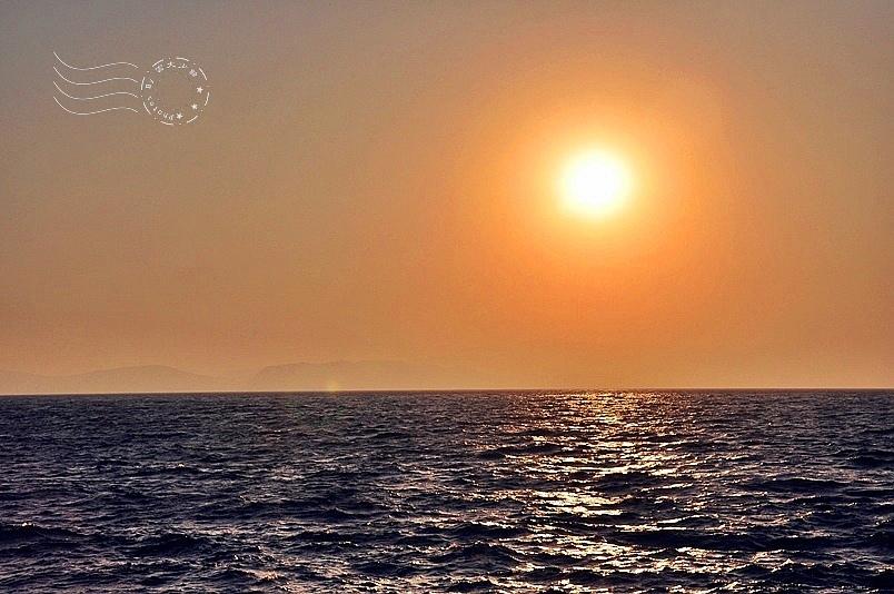 愛琴海夕陽