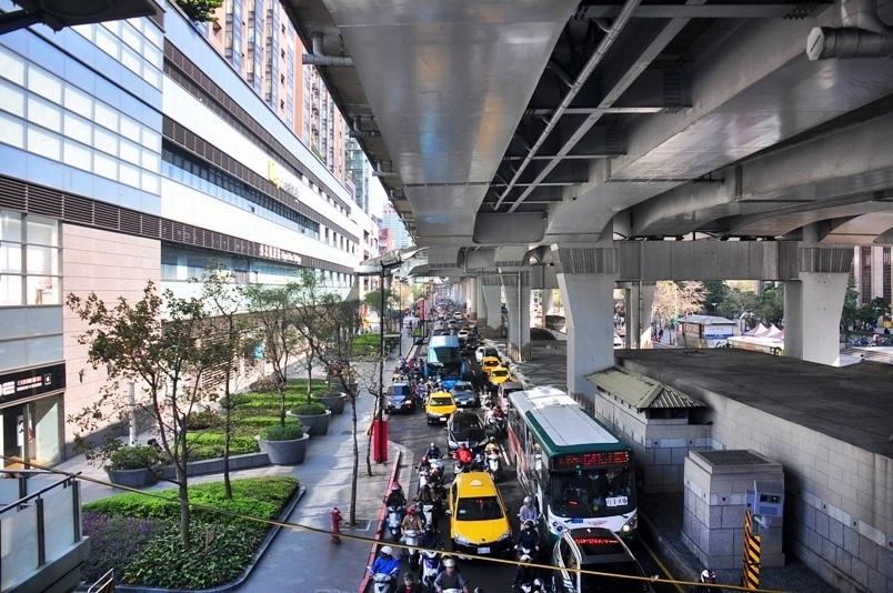 台北車站天橋