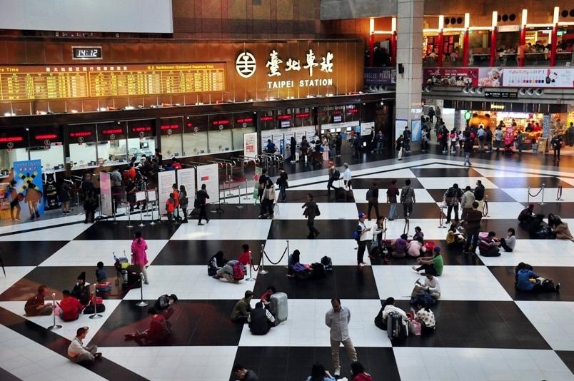 台北車站大廳