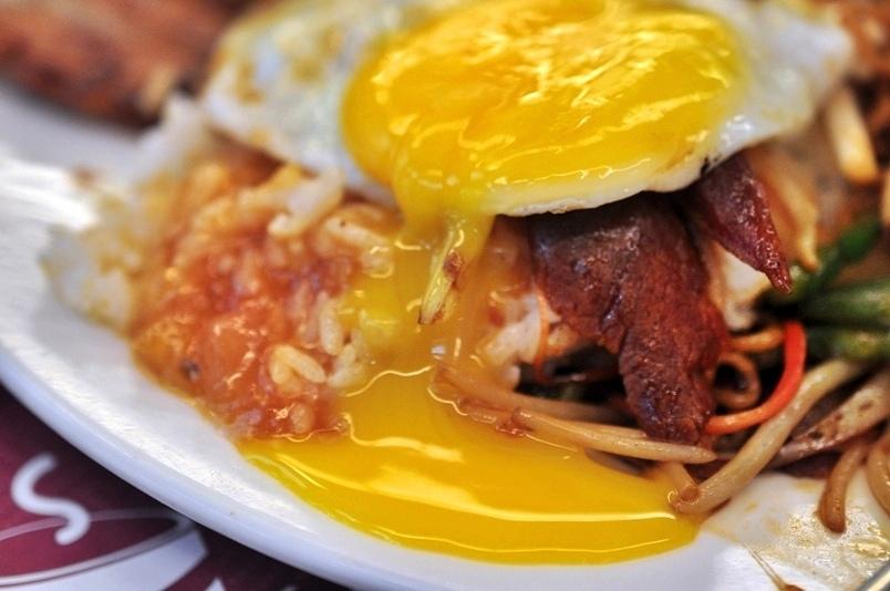 鮮茄豬排蛋飯