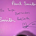 Paul Smith簽名