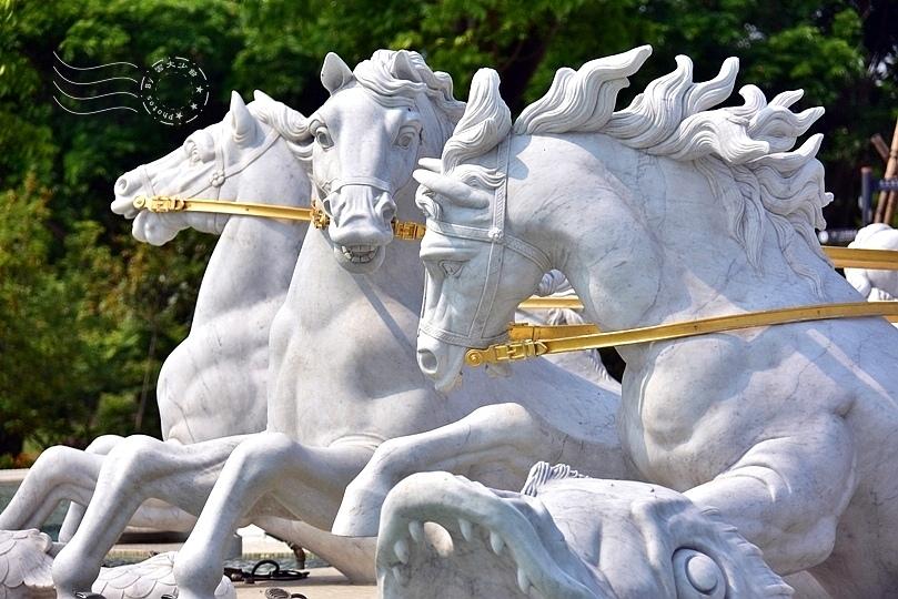奇美博物館:阿波羅噴泉